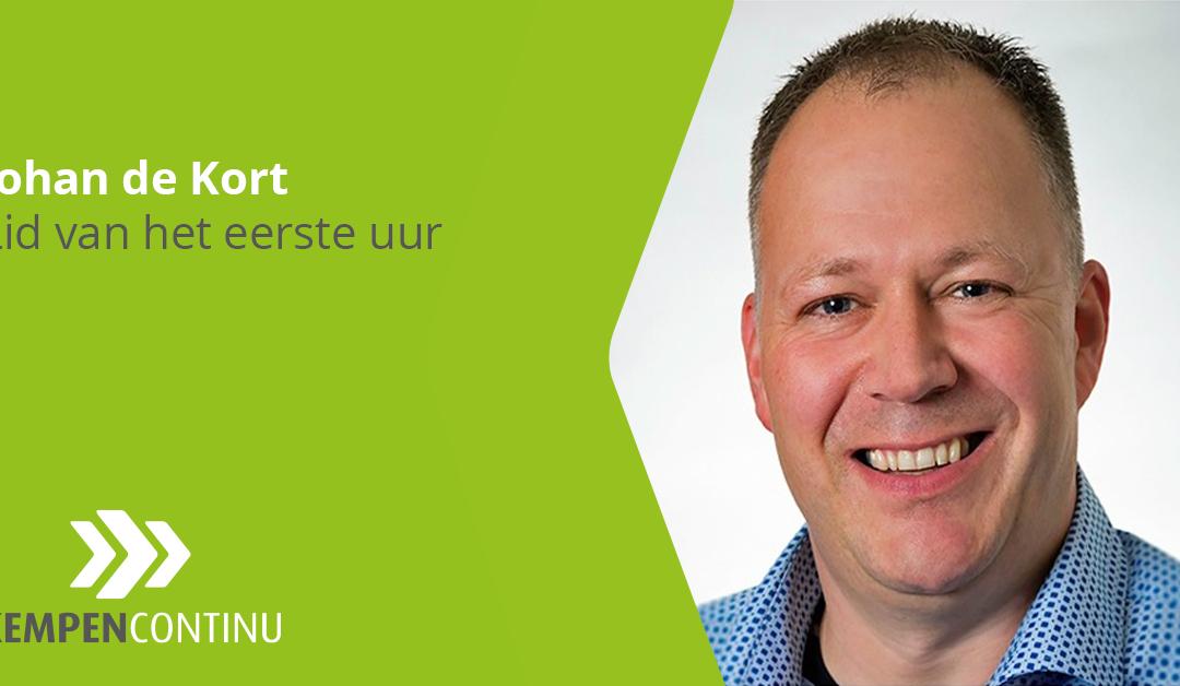 Lid aan het woord – Johan de Kort (De Kort HR Support)