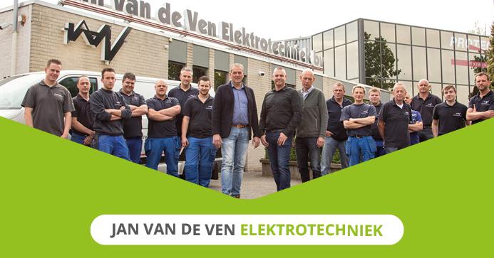 Continuïteit bij Jan van de Ven Elektrotechniek
